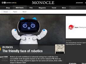 【メディア掲載】The friendly face of robotics(Monocle Radio)