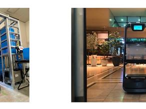 QBITが、森トラストと、異種複数台の自動搬送ロボットとロボットアームを用いた館内配送集荷サービスの実証実験を開始~6/2より 城山トラストタワーで 1ヵ月間実施~