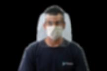 Máscara proteção COVID