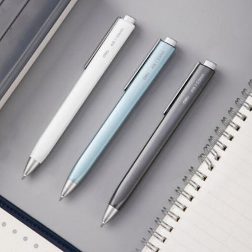 메탈 삼각 디자인 중성 볼펜