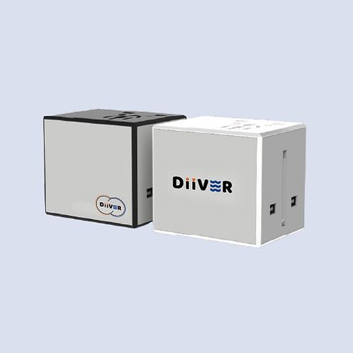 듀얼포트 USB 멀티 아답터