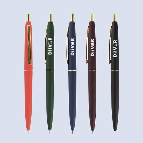 무광 골드라인 펜