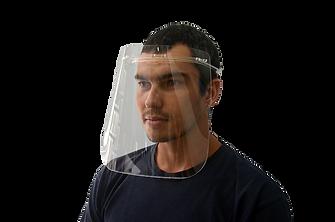 Máscara proteção facial