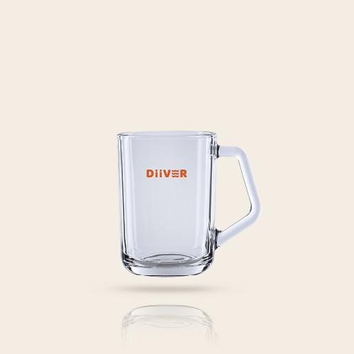 글라스 머그컵