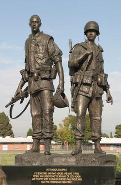 Vietnam War Memorial in CA  By Tuan