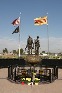Vietnam War Memorial in Westminster,