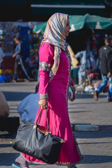 Marrakech - Plaza de Yamaa el Fna
