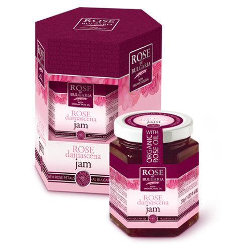 Джем с розовым маслом и лепестками роз