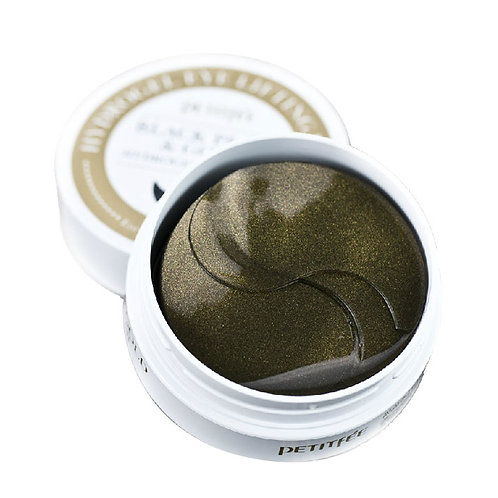 Petitfee Hydrogel Eye PATCH - Black Pearl & Gold