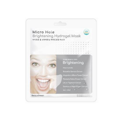 BeauuGreen Micro Hole Hydrogel Mask (1ea) -  Brightening