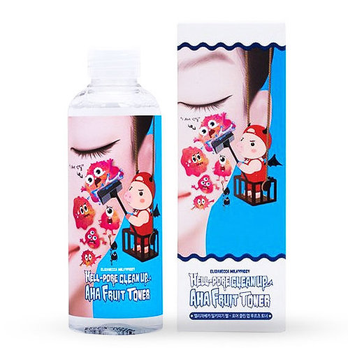Elizavecca Hell pore clean up AHA Fruit Toner