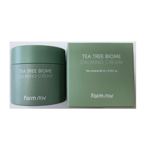 Farmstay Tea Tree Biome Calming Cream 80ml