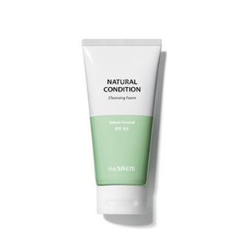 The Saem Natural Condition Cleansing Foam [Sebum Control]