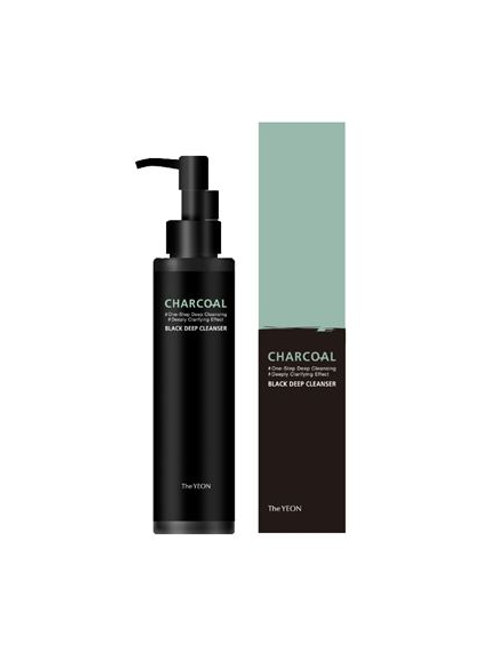The YEON Charcoal Black Deep Cleanser - Renewal