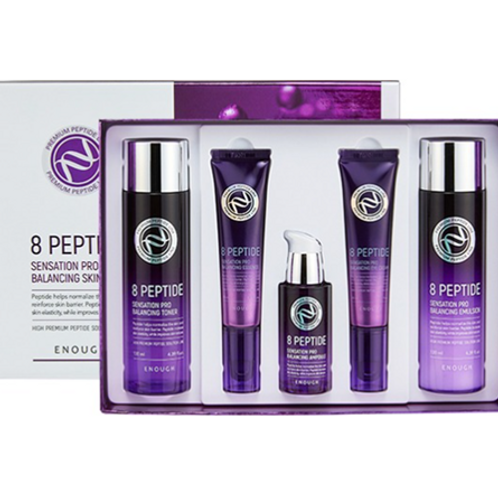 Enough  8 Peptide Sensation Pro Balancing Skin Care 5 Set