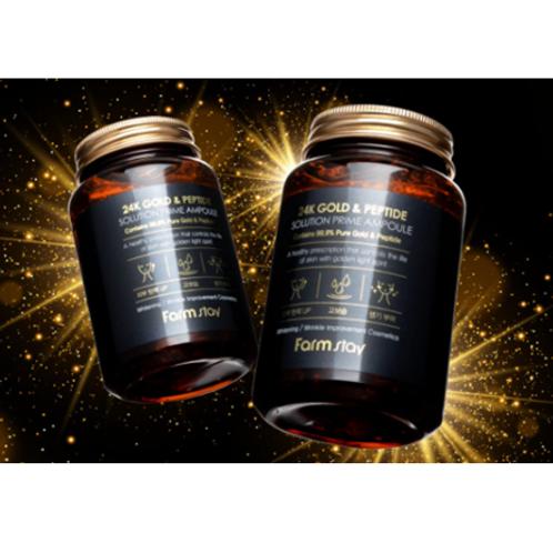 FarmStay 24K Gold & Peptide Prime Ampoule 250ml
