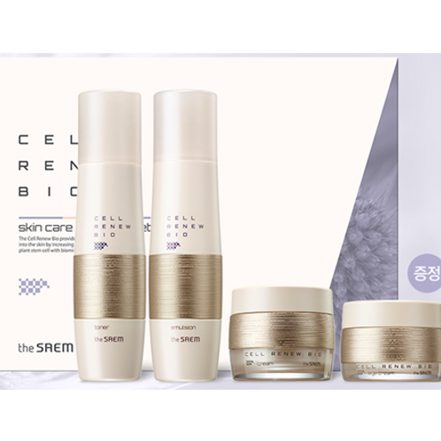 The Saem Cell Renew Bio Skin Care Special 3 Set
