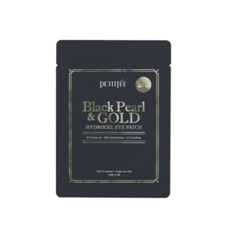 Petitfee Hydrogel Eye Patch (1pair / 2pcs) - Black Pearl & Gold