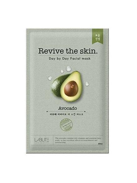 Labute Revive the skin Facial Mask (10ea) - Avocado