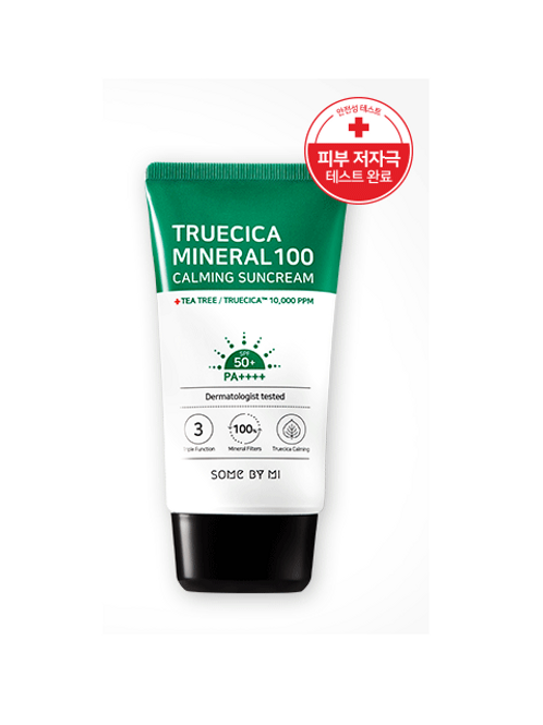 SOME BY MI Truecica Mineral 100 Calming Suncream SPF50+ PA++++ 50ml