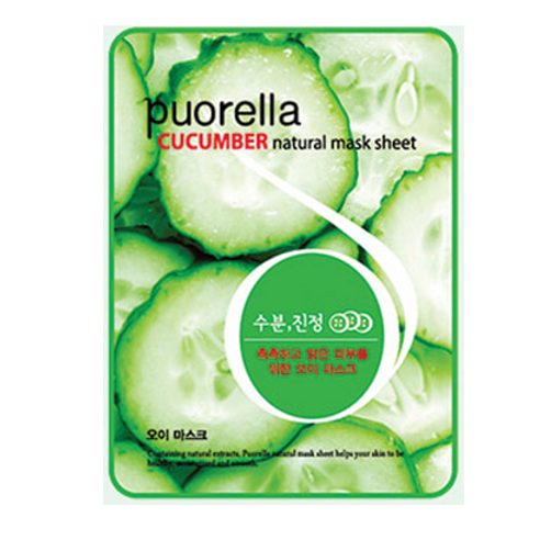 Puorella Mask Sheet -CUCUMBER(10ea)