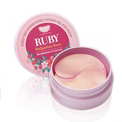KOELF Hydrogel Eye Patch - Ruby & Bulgarian Rose
