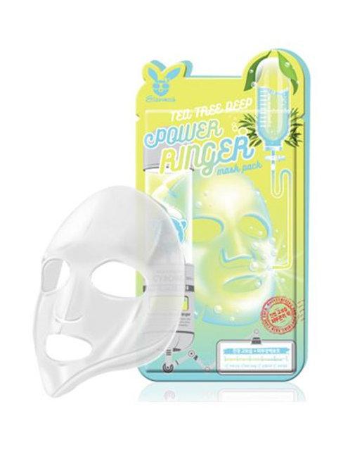 Elizavecca Deep Power Ringer Mask Pack - Tea Tree (10ea)