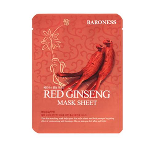 Baroness Mask Sheet -RED GINSENG (10ea)