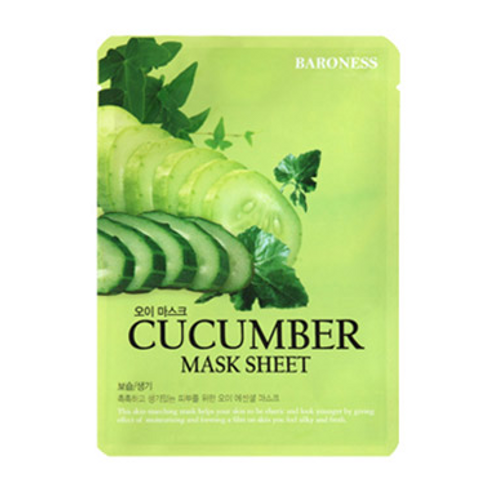 Baroness Mask Sheet - CUCUMBER(10ea)
