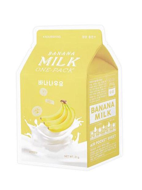 A'pieu milk one pack (1ea) - Banana