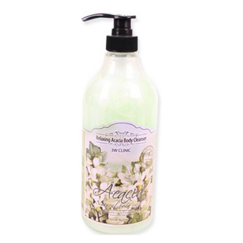 3W Clinic  Relaxing Body Cleanser - ACACIA  1000ml
