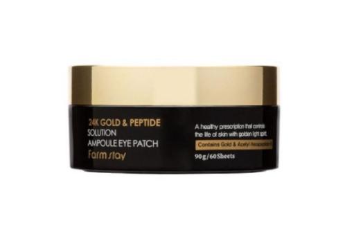 Farmstay 24K Gold & Peptide Solution Ampoule Eye Patch