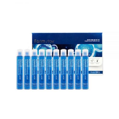 Farmstay Collagen Water Full Moist Treatment Hair Filler 13ml x 10ea