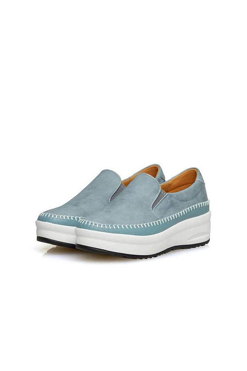 Step Comport Slip-on (BLUE GRAY)