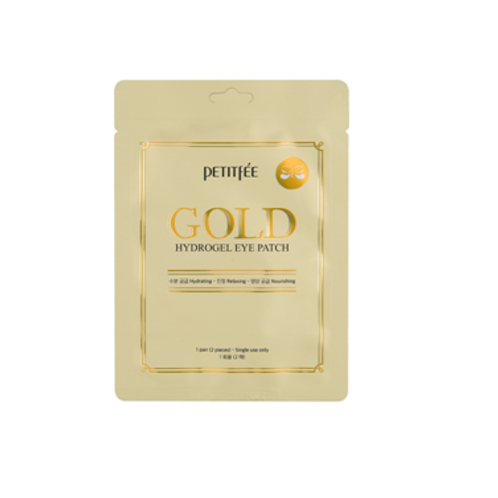 Petitfee Hydrogel Eye Patch (1pair / 2pcs) - Gold