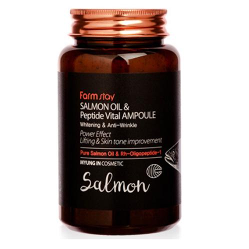 Farmstay Salmon Oil & Peptide Vital Ampoule 250ml