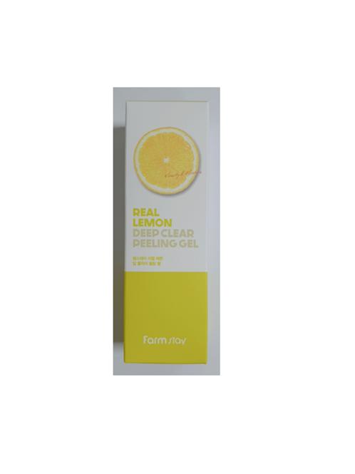 Farmstay Real Deep Clear Peeling Gel 100ml - Lemon