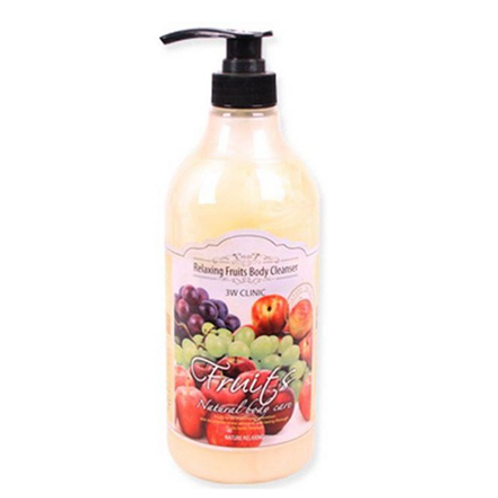3W Clinic  Relaxing Body Cleanser - FRUITS 1000ml