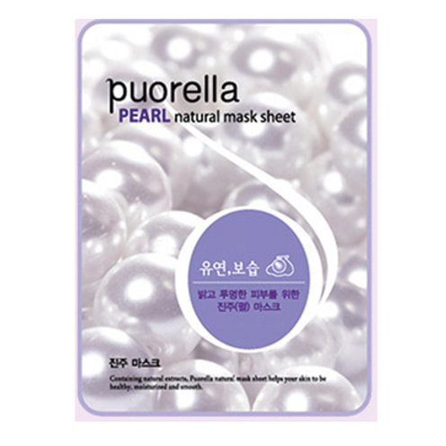 Puorella Mask Sheet - PEARL(10ea)