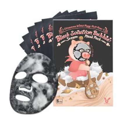 Elizavecca Black Solution Bubble Serum Mask Pack 1ea