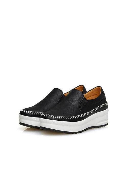 Step Comport Slip-on (BLACK)