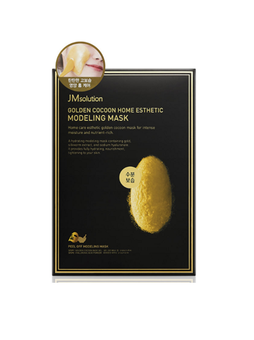 JM Solution Cocoon Home Esthetic - Modeling Mask (5ea) - Golden