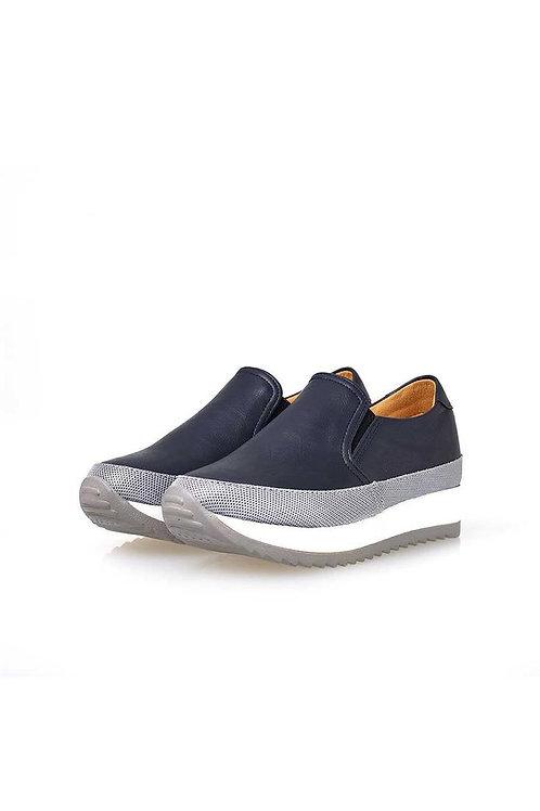 Dual Comfort Slip-on (NAVY)