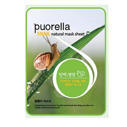 Puorella Mask Sheet - SNAIL (10ea)