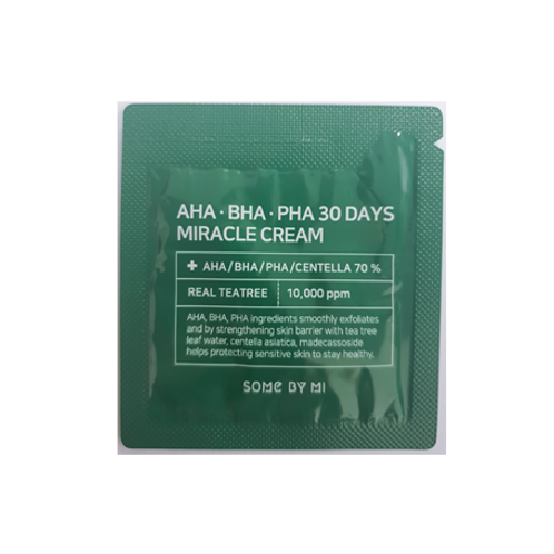 SOME BY MI AHA-BHA-PHA 30 DAYS MIRACLE CREAM (10ea)  -Sample