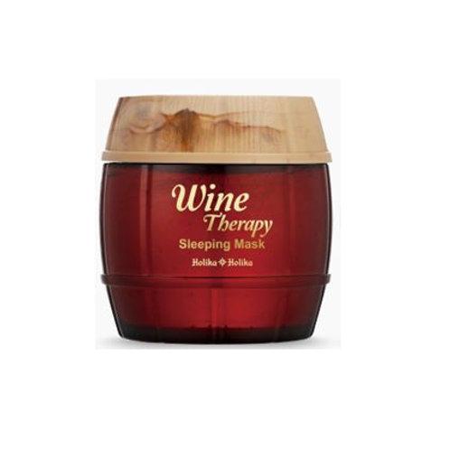 Holika Holika Wine Therapy Sleeping Mask 120ml - Red