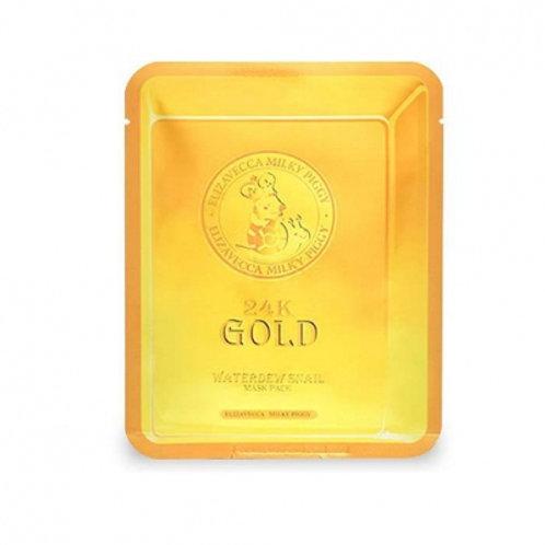 Elizavecca 24k gold water duel snail mask 1ea