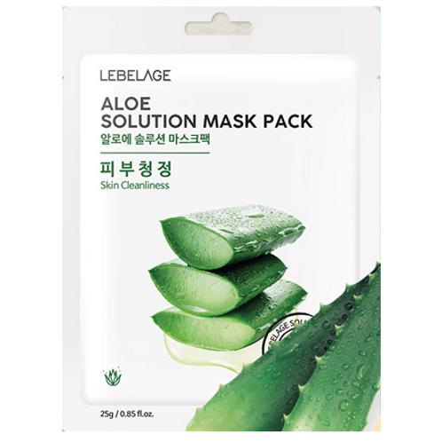 LEBELAGE Aloe Solution Mask Pack(10ea)-Aloe