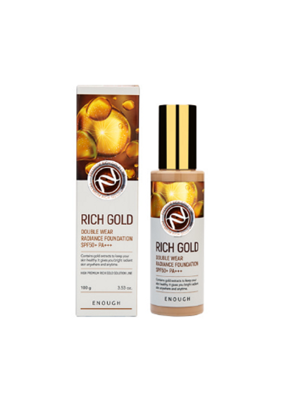 Enough RICH GOLD Double Wear Radiance Foundation SPF50+ PA+++ #21