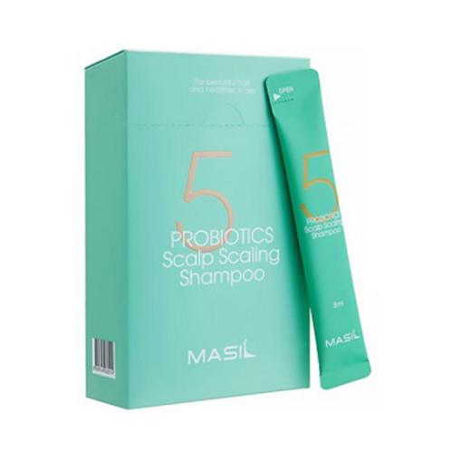 Masil 5 Probiotics Scalp Scaling Shampoo Pouch (8ml x 20ea)